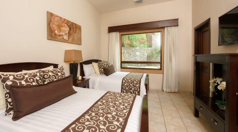 11 Pura Vida Villa Bedroom 3 View of Courtyard