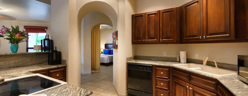 15 Pura Vida Villa Guest Apartment Kitchen