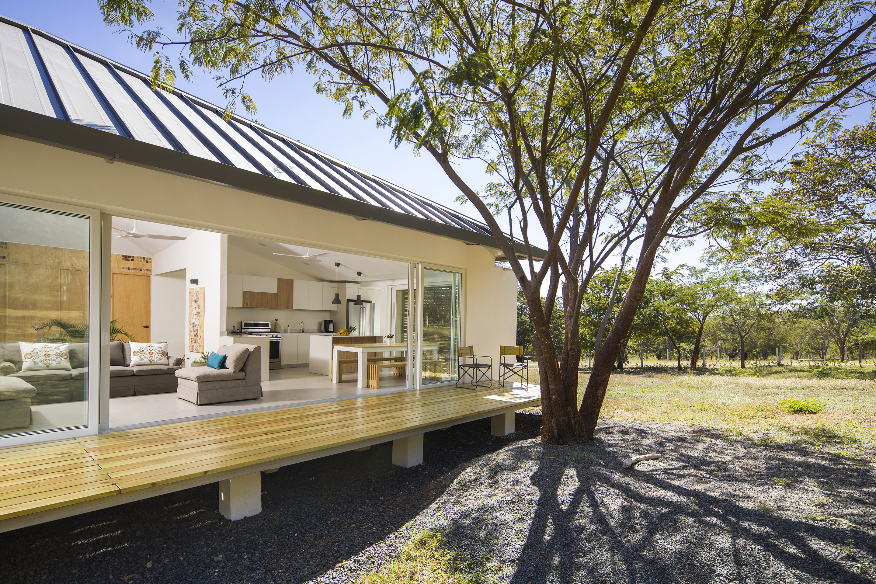 Award-winning Sustainable Architecture with 36 Solar Panels Minutes Away from Playa Grande Guanacaste