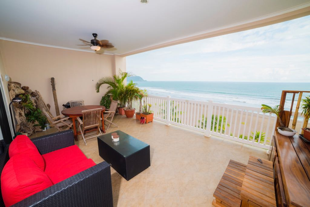 Ocean View 2 bedroom Condo at Palms located in the north of Jaco!