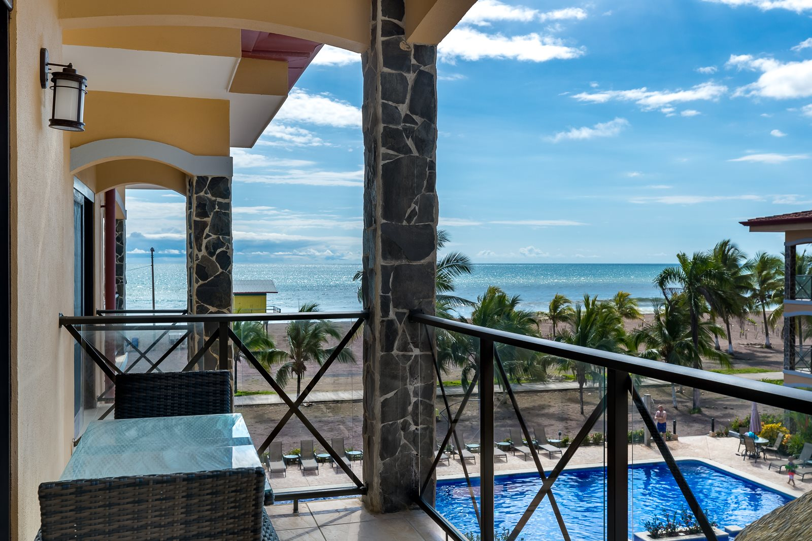 3 Bedroom Ocean Front Condo at Bahia Encantada. Fully Furnished