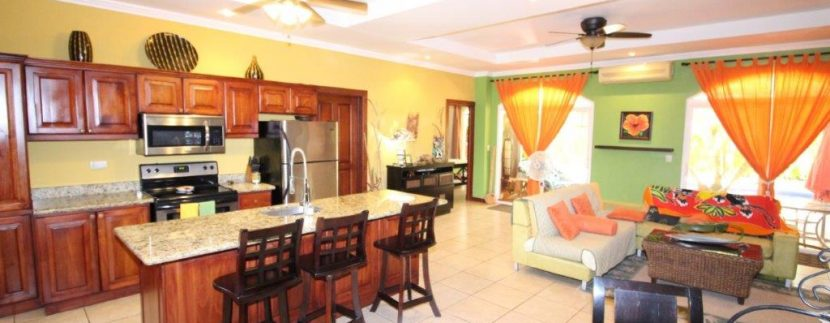 Costa-Rica-Beach-Home-for-sale-areas-of-dining-and-kitchen