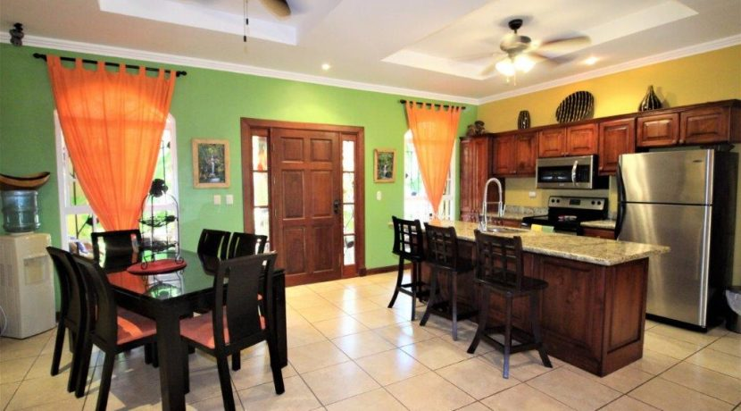 Costa-Rica-Beach-Home-for-sale-kitchen-dining-area