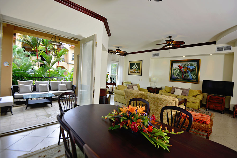 Bella Vista 7D 3 Bedroom Condo in the heart of Los Suenos!