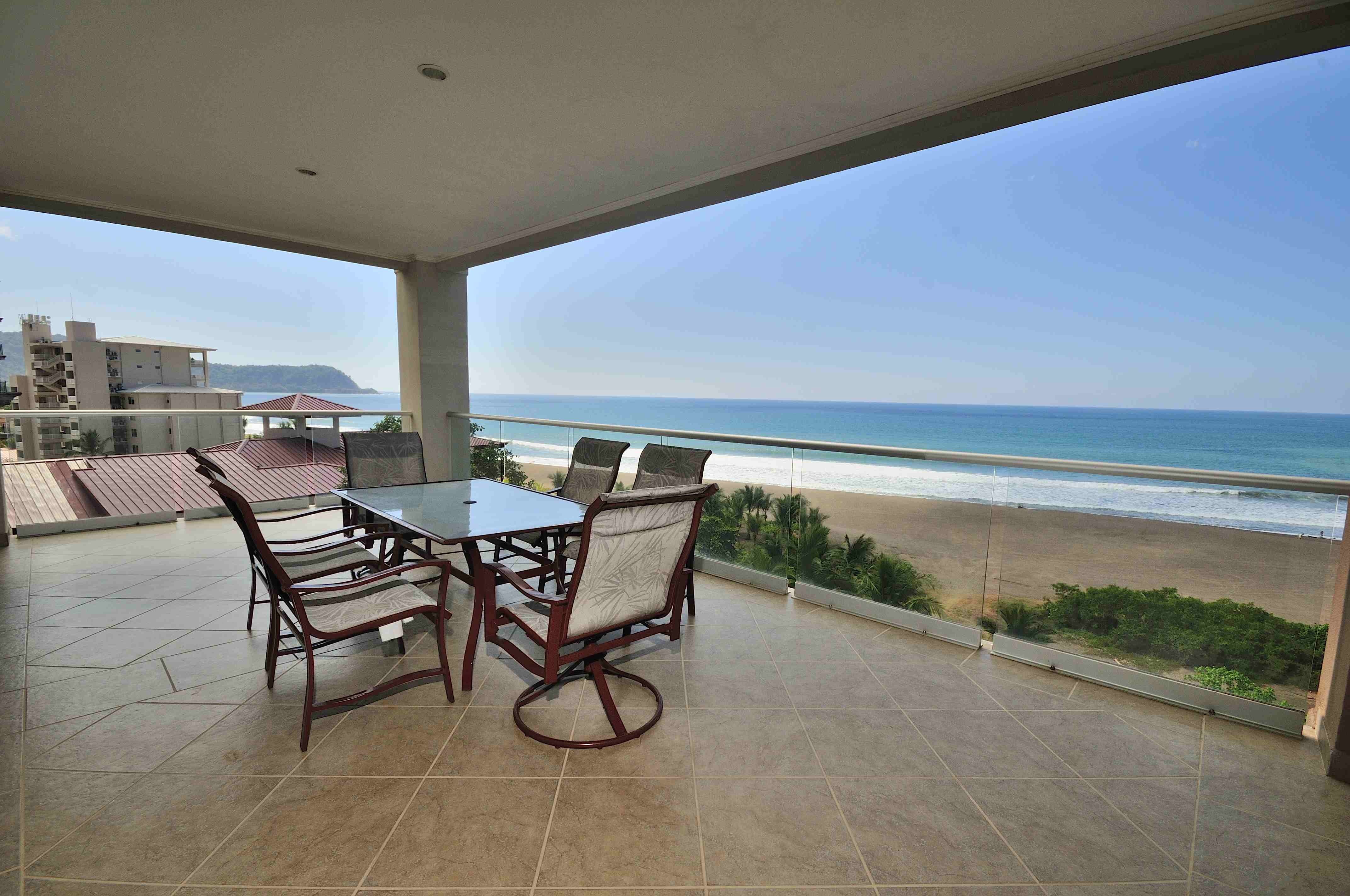Breakwater Point 803- 8th Floor Oceanfront Exclusive North End Condo Of Jaco Beach Costa Rica