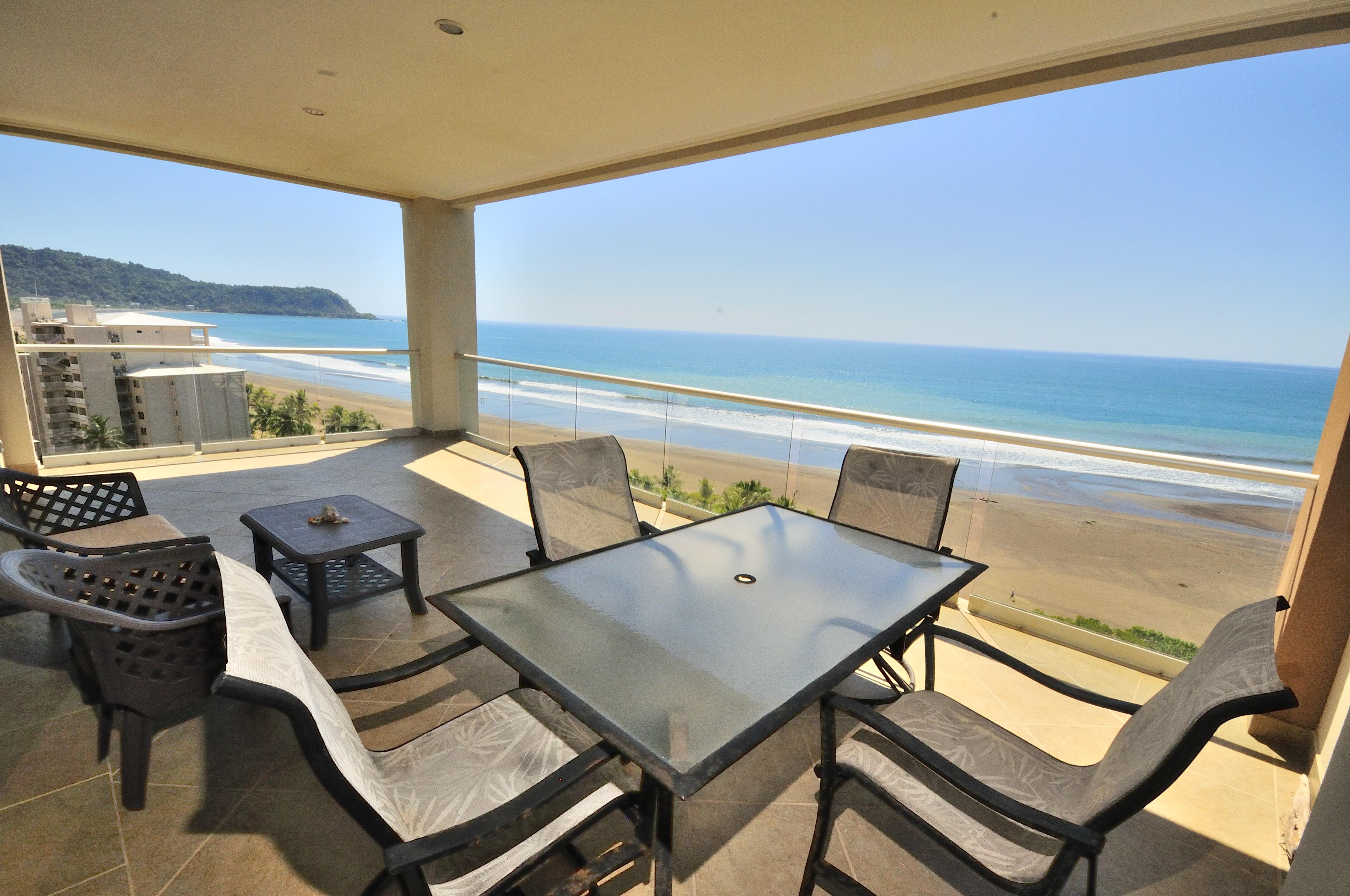 12th Floor Oceanfront Condominium- North End Jaco Beach